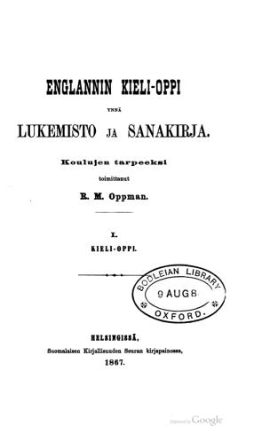 englanti Suomessa | Kielen kannoilla