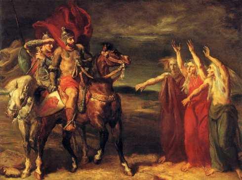 Macbeth, Banquo ja noidat