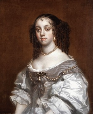 Catherine of Braganza, Queen of England 1665 (Wikimedia Commons)