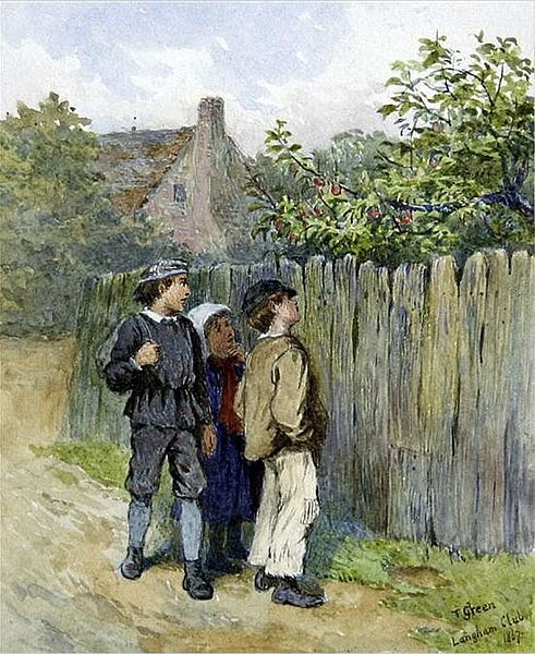 "Henry Towneley Green, ""Scrumpers"" (1867) (Wikimedia Commons)"