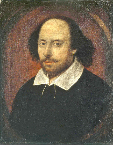 William Shakespeare (Wikimedia Commons)